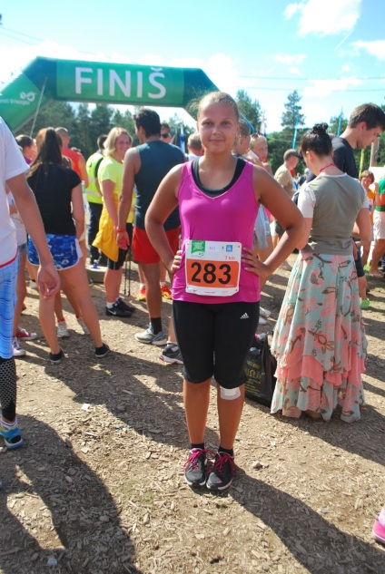 My first race at Narva Energy Run in August.