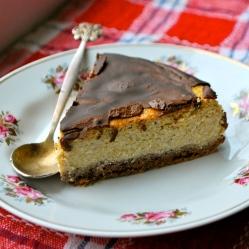 Pumpkin cheesecake (LC, GLF, GRF, SF)