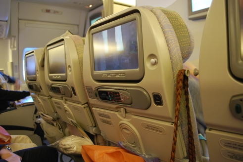 Entertainment on Emirates