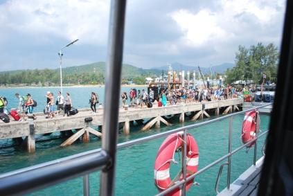 Port on Koh Phangan
