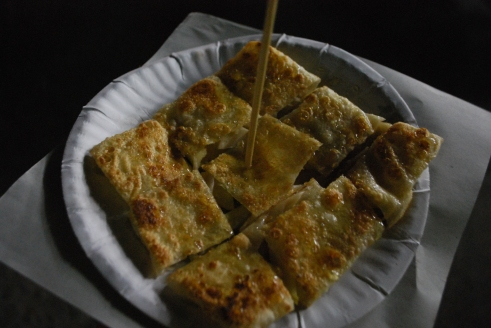 Apple and honey roti
