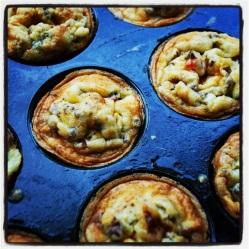 Egg muffins (DF, LC, GLF, GRF, SF)