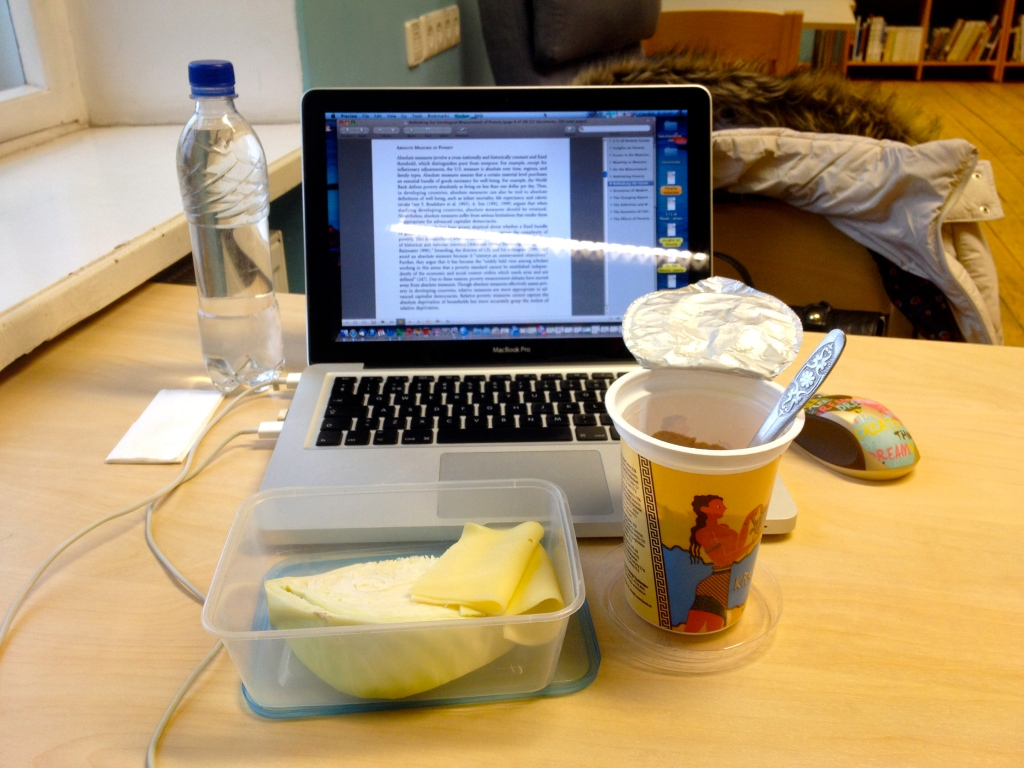 Long day at the library? Bring your own food :)