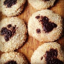 Peanut butter cookies (DF, LC, GLF, GRF, SF)