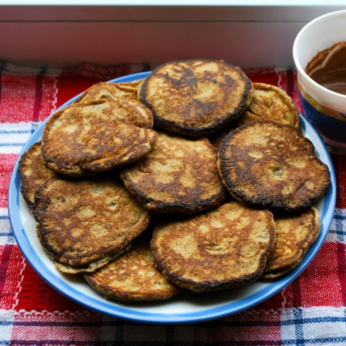 Almond and flaxseed pancakes (DF, LC, GLF, GRF, SF)