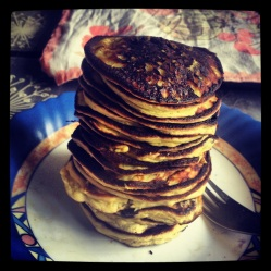 Protein pancakes with ricotta (LC, GLF, GRF, SF)