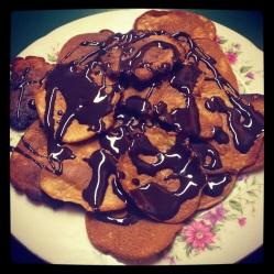 Vanilla protein pancakes (DF, LC, GLF, GRF, SF)