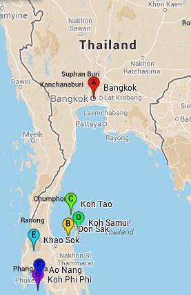 Thailand part V Ao Nang Phi Phi Islands Nourish Train Flourish