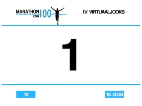 Couldn't really complain about my race number, could I? :)