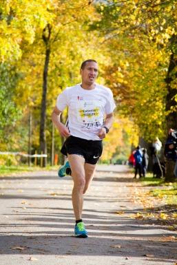 Kaevur ja jooksja. Foto: Mallor Malmre/Jooksuportaal