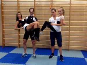 TYSKi BodyPumpi treenerid: Maris, Florian, Elari, Kristina.