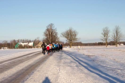 Mina grupi tagaosas teisi püüdmas. Foto: Krista Mikk