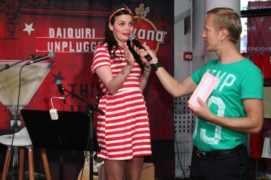 Ženja Fokin Mallukaga intervjuud tegemas. By Marimell FOTO